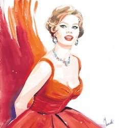 Sofia Loren 1950s