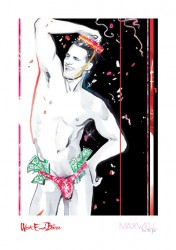 West End Bares Print By Maxwell D